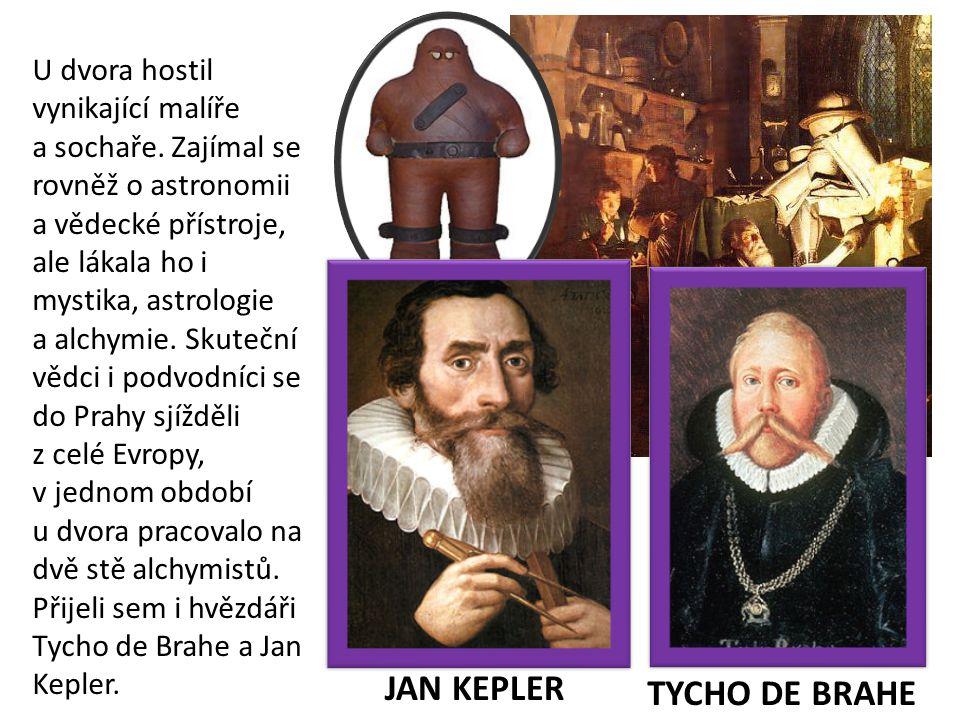 U dvora hostil vynikající malíře a sochaře. Zajímal se rovněž o astronomii a vědecké přístroje, ale lákala ho i mystika, astrologie a alchymie. Skuteč