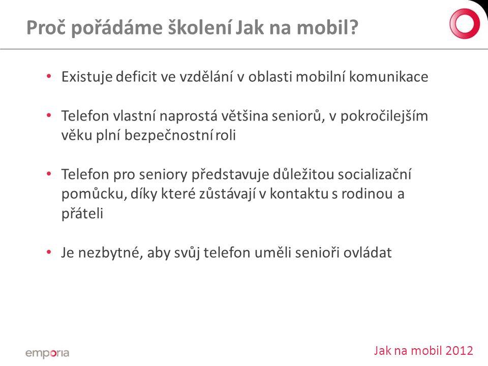 Proč pořádáme školení Jak na mobil.