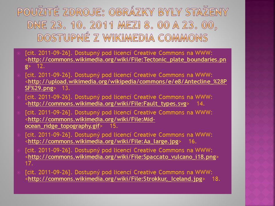  [cit. 2011-09-26]. Dostupný pod licencí Creative Commons na WWW: 6.http://commons.wikimedia.org/wiki/File:Nodding_donkey_- _geograph.org.uk_-_263305