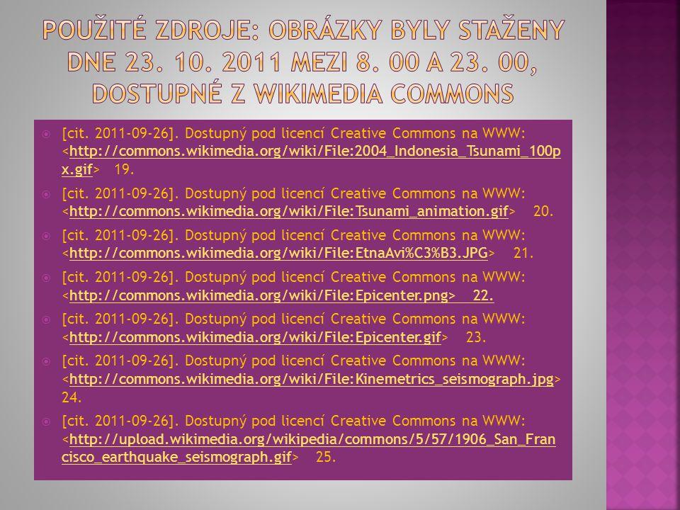 [cit. 2011-09-26]. Dostupný pod licencí Creative Commons na WWW: 12.http://commons.wikimedia.org/wiki/File:Tectonic_plate_boundaries.pn g  [cit. 20