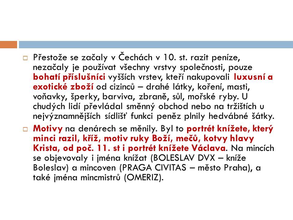 Denár Boleslava II. Obr. 3