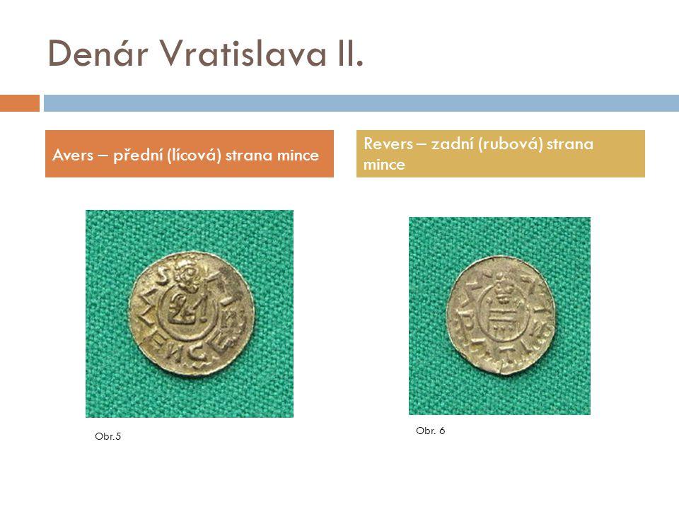 Denáry Bořivoje II.a Svatopluka  Denár Bořivoje II.