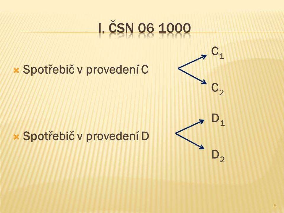 C 1  Spotřebič v provedení C C 2 D 1  Spotřebič v provedení D D 2 5