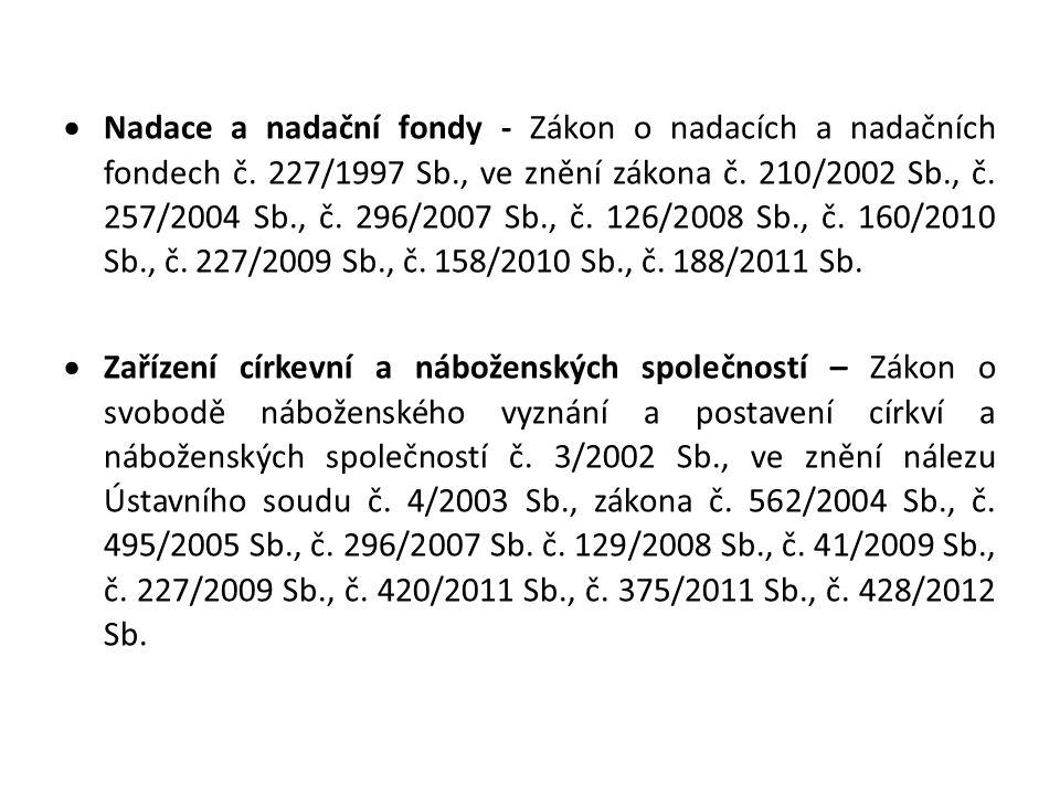 NOVÝ OBČANSKÝ ZÁKONÍK z.č.89/2012 Sb.