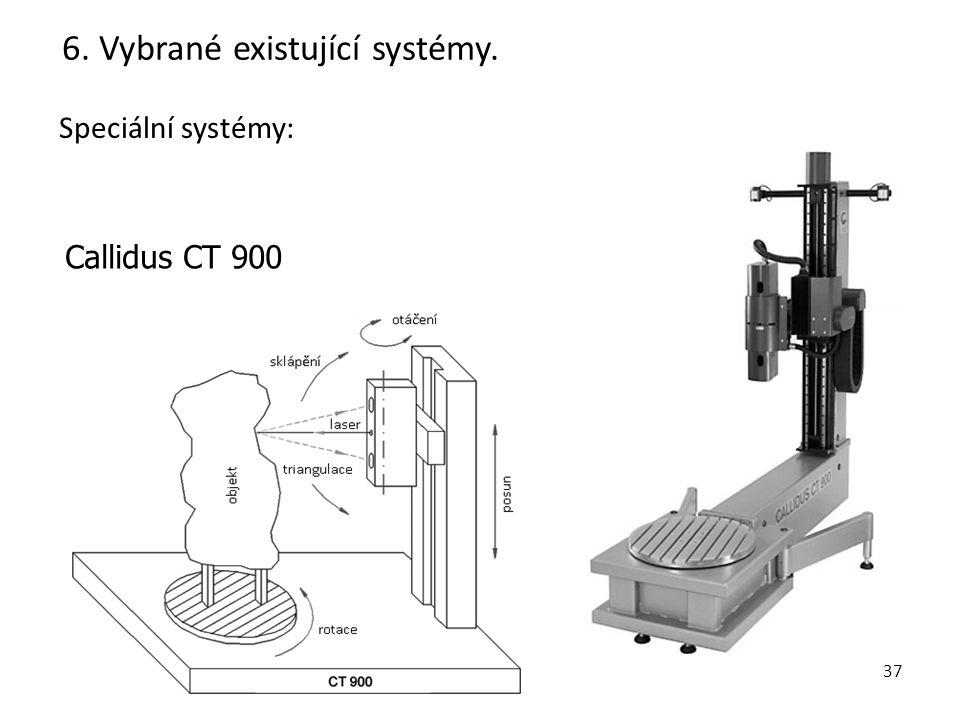 38 Speciální systémy: 6. Vybrané existující systémy. Cavity Autoscanning Laser System