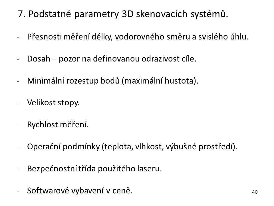 41 8.Aplikace terestrických systémů. -Zaměřování složitých technologických celků a konstrukcí.