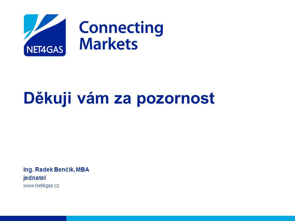 Děkuji vám za pozornost Ing. Radek Benčík, MBA jednatel www.net4gas.cz