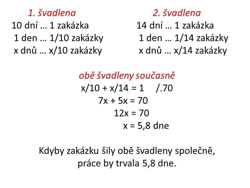 1.švadlena 2.