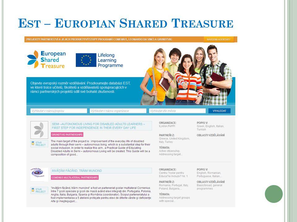 P ROGRAMY EU TÝKAJÍCÍ SE SŠ Comenius Leonardo da Vinci Přípravné návštěvy Průřezový program eTwinning Euroguidance Norské fondy a fondy EHP