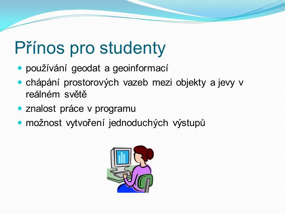 Cíl práce  Cílem práce je nalezení vhodného Open source produktu, který bude splňovat všechny kritéria podle požadavku vyučujícího zeměpisu.