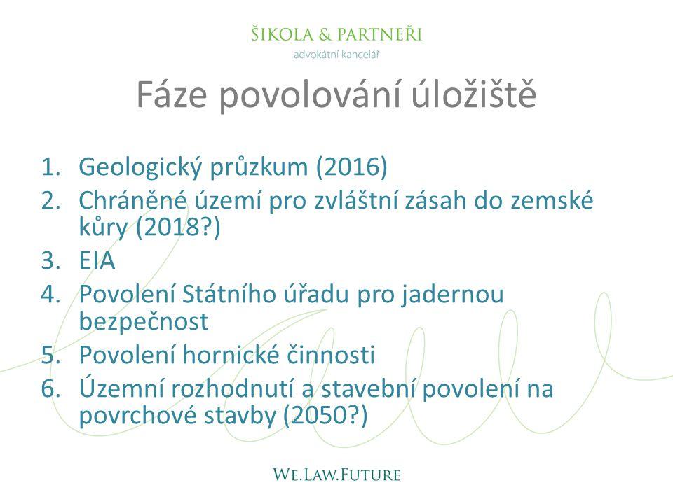 Geologický průzkum • Relevantní zákony: – z.č.61/1988 Sb., o hornické činnosti – z.č.