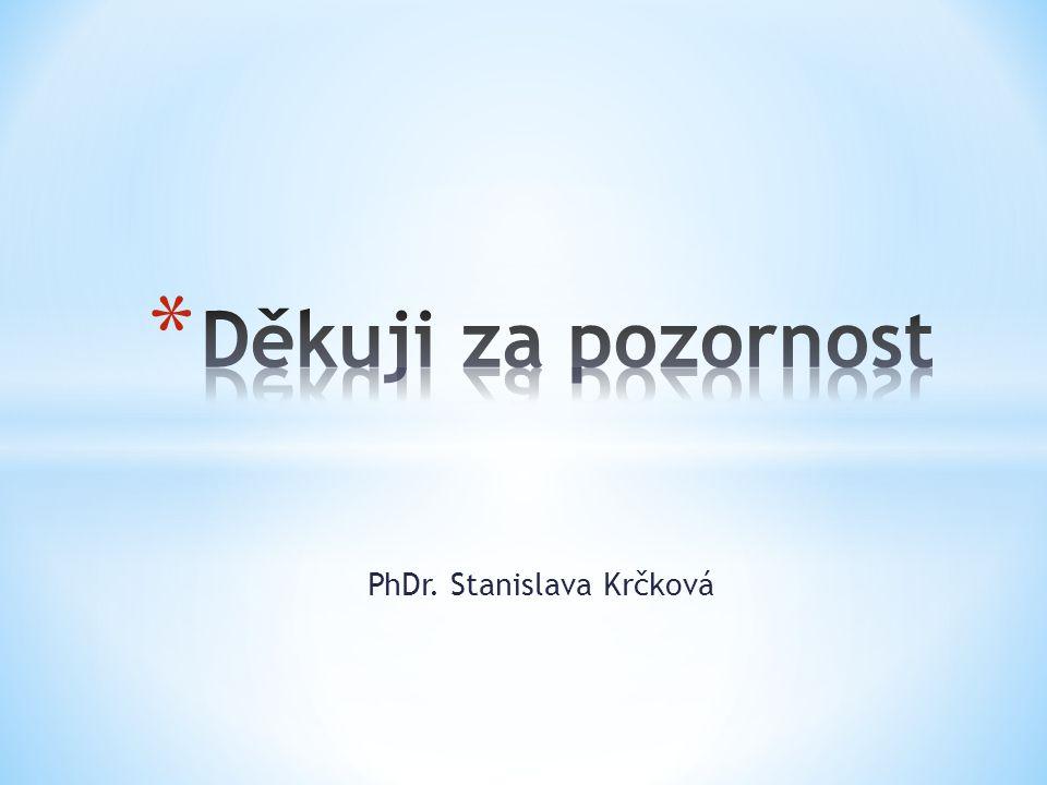 PhDr. Stanislava Krčková
