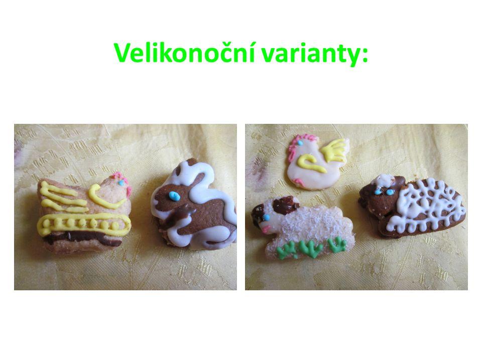 Velikonoční varianty: