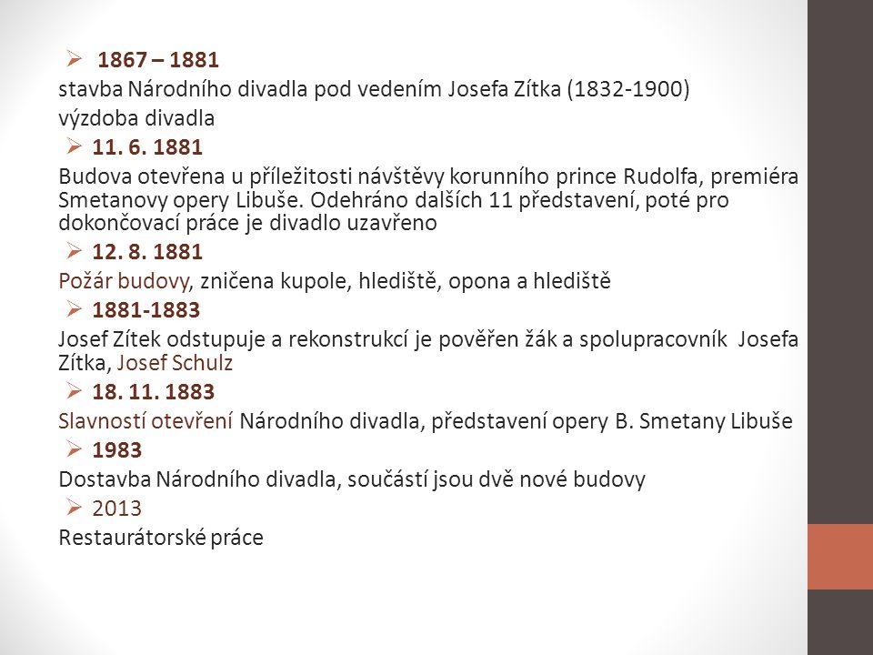 Václav Brožík, 1851-1901 • Představitel akademické malby • Historické náměty • Pro Národní divadlo výzdoba salonu Královské lóže • Obr.