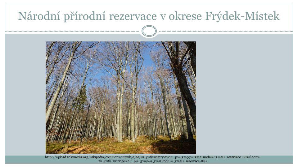 Národní přírodní rezervace v okrese Frýdek-Místek http://upload.wikimedia.org/wikipedia/commons/thumb/e/ee/%C4%8Cantoryje%2C_p%C5%99%C3%ADrodn%C3%AD_r