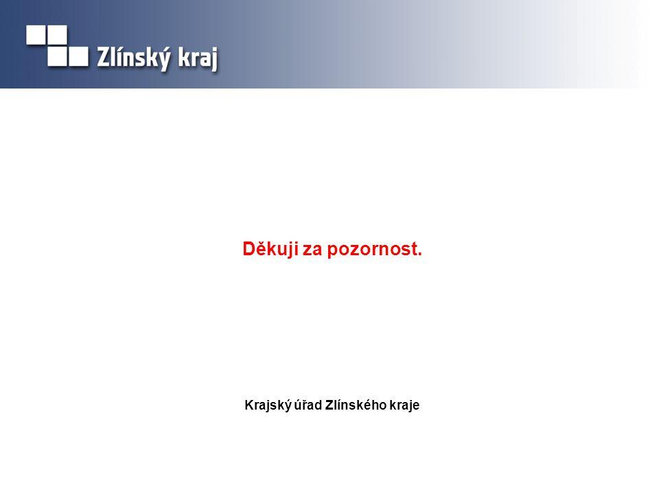 Krajský úřad Zlínského kraje Děkuji za pozornost.