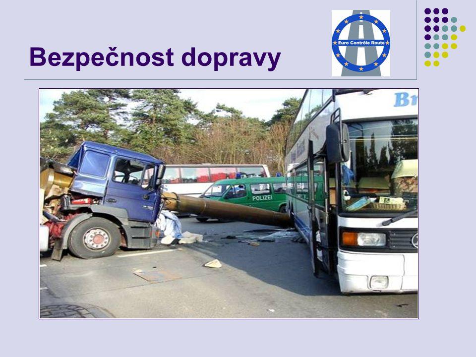 Lidské tragédie na evropských silnicích…