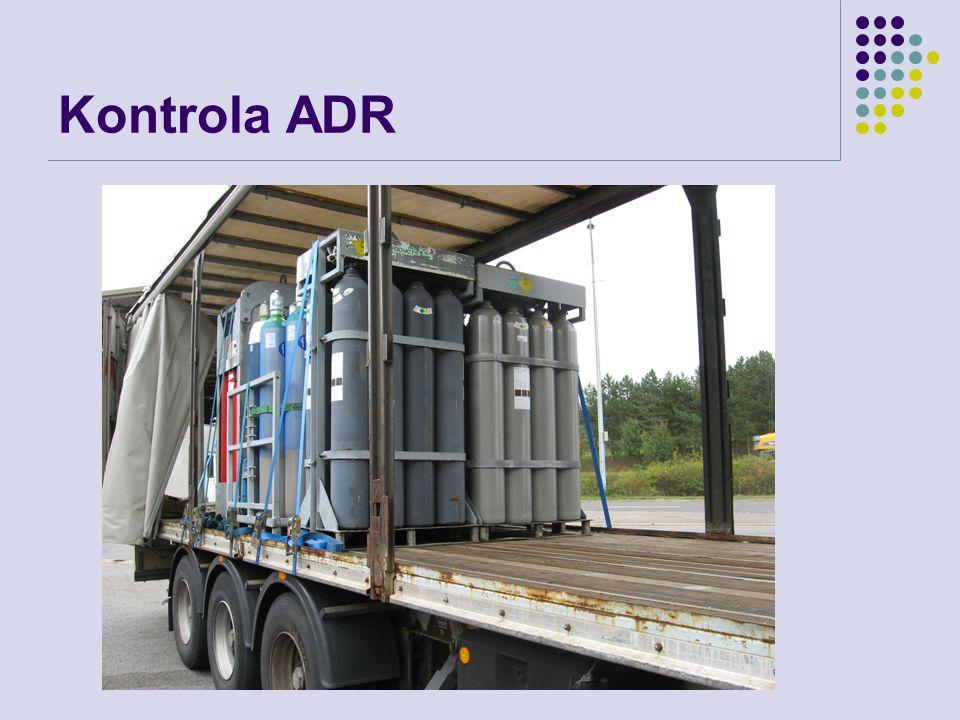 Kontrola ADR