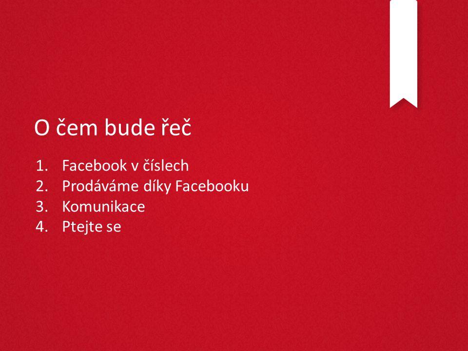 1. Facebook v číslech