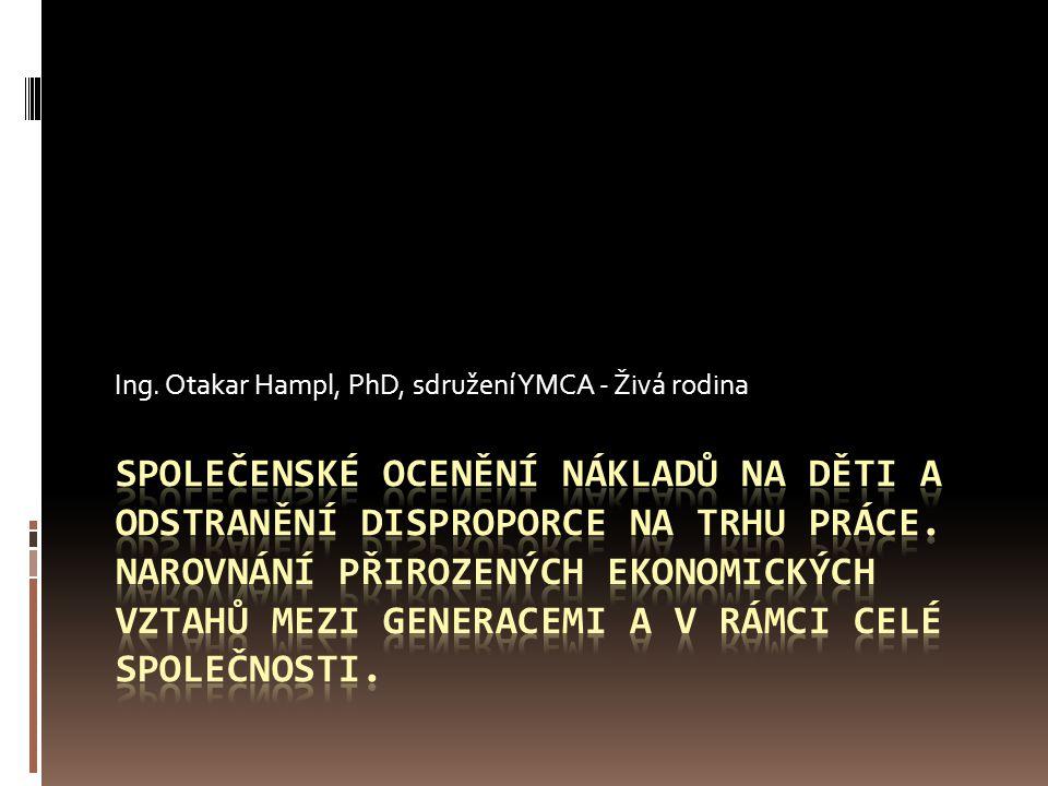 Ing. Otakar Hampl, PhD, sdružení YMCA - Živá rodina
