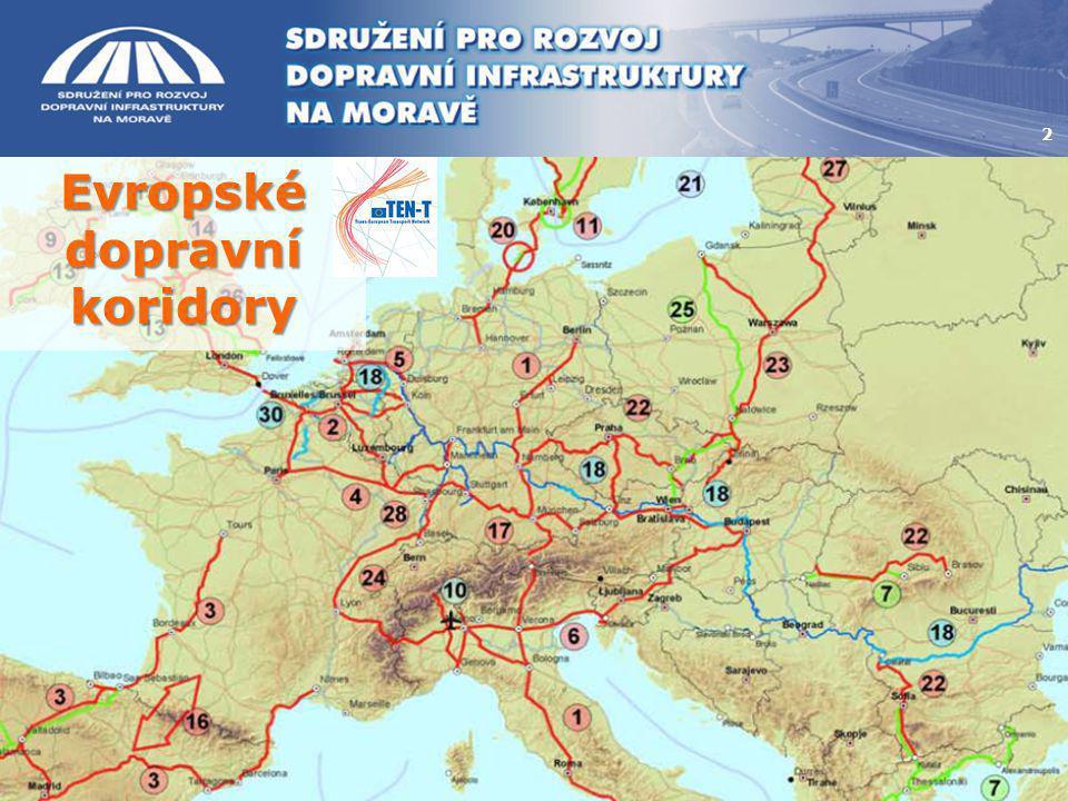 Evropské dopravní koridory 2