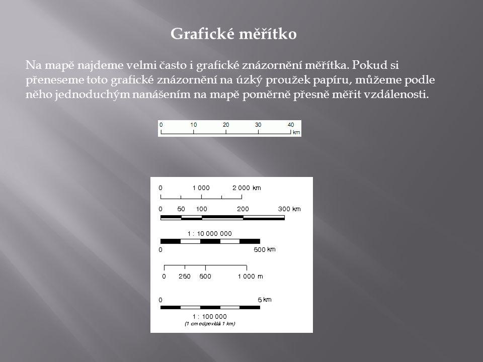 MŘÍŽKA Mnoho map má nějaký typ mřížky nebo systém souřadnic, který je závislý na zemi původu.
