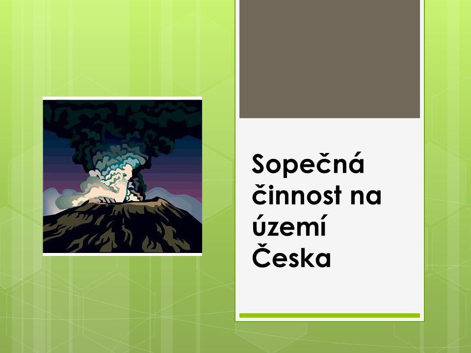 Sopečná činnost na území Česka