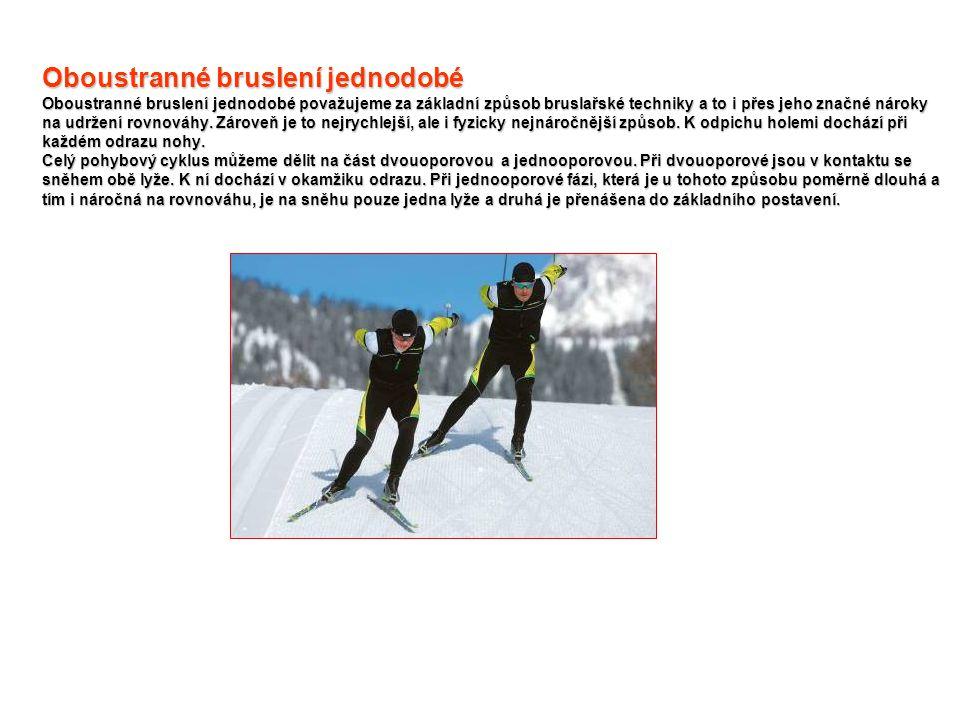 Combi – lyže, které splňují přiměřené požadavky pro používání obou dvou způsobů běhu.