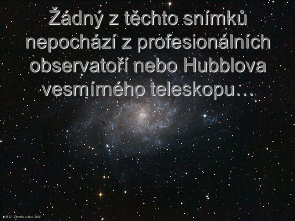 Zbytky po výbuších hvězd…