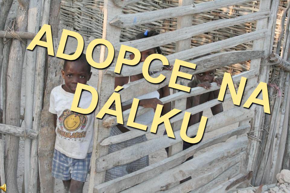 Projekt Adopce na dálku má v České republice tradici od roku 1993.