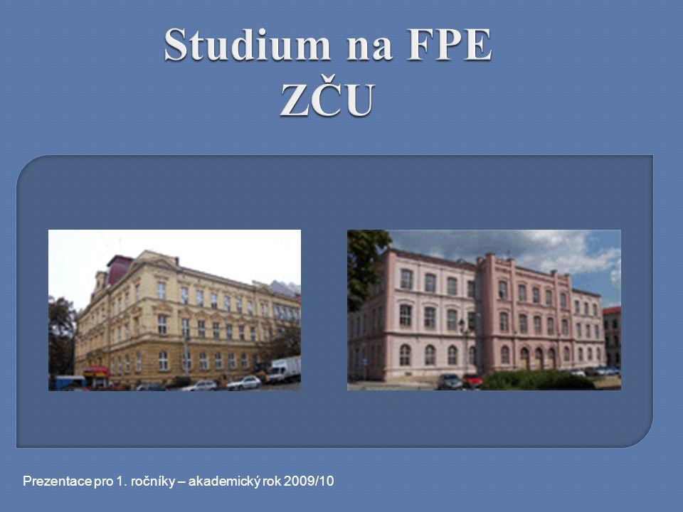 Prezentace pro 1. ročníky – akademický rok 2009/10