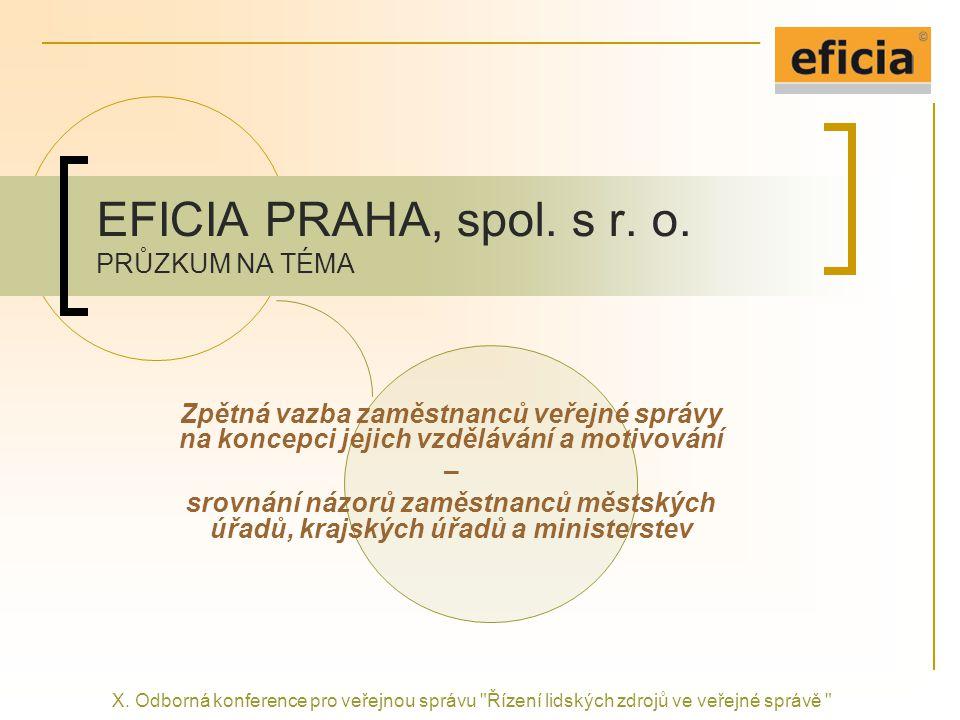 EFICIA PRAHA, spol.s r. o.