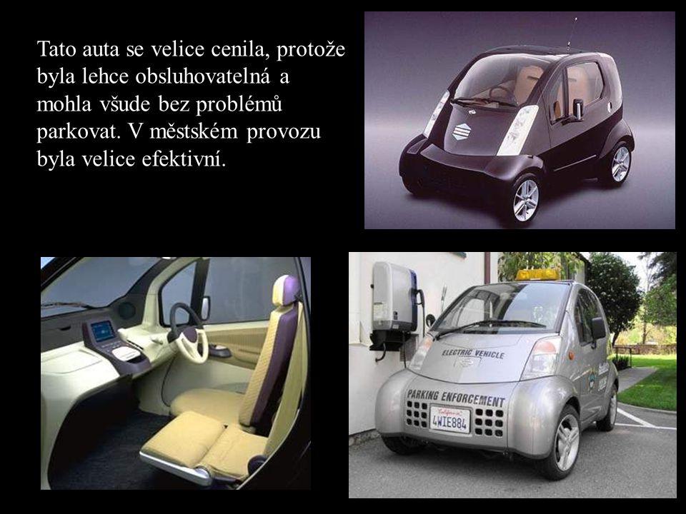 •V roce 1997 Hypermini •V roce 1997 prezentoval Nissan elektromobil Hypermini v Tokiu. •Představitelé města Pasadena v Kalifornii (USA) zvolili toto a