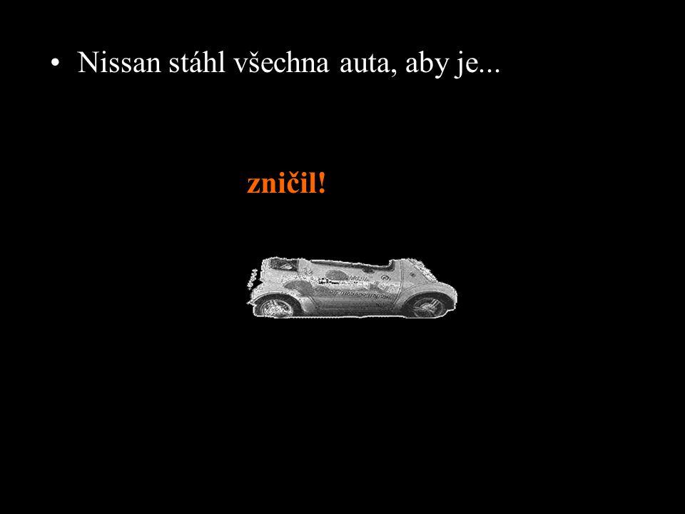 •Město zkusilo auta koupit... ale Nissan odpověděl záporně. •V srpnu 2006 uplynula nájemní smlouva na auta mezi městem Pasadena a Nissanem.