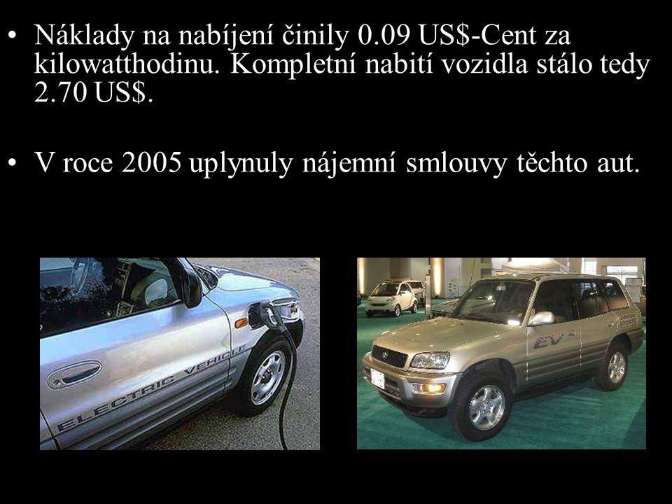 •Toto vozidlo s náhonem na všechna kola, vyspělý produkt technologie, byl svými uživateli od roku 1997 velmi ceněn. 2003 RAV4-EV •V roce 2003 se Toyot