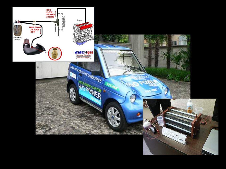 •Poslední rok byl veřejnosti představen Genepax. Zde se jedná o jediné auto, které jezdí na vodní páru. •Ano, četli jste správně: toto auto funguje je