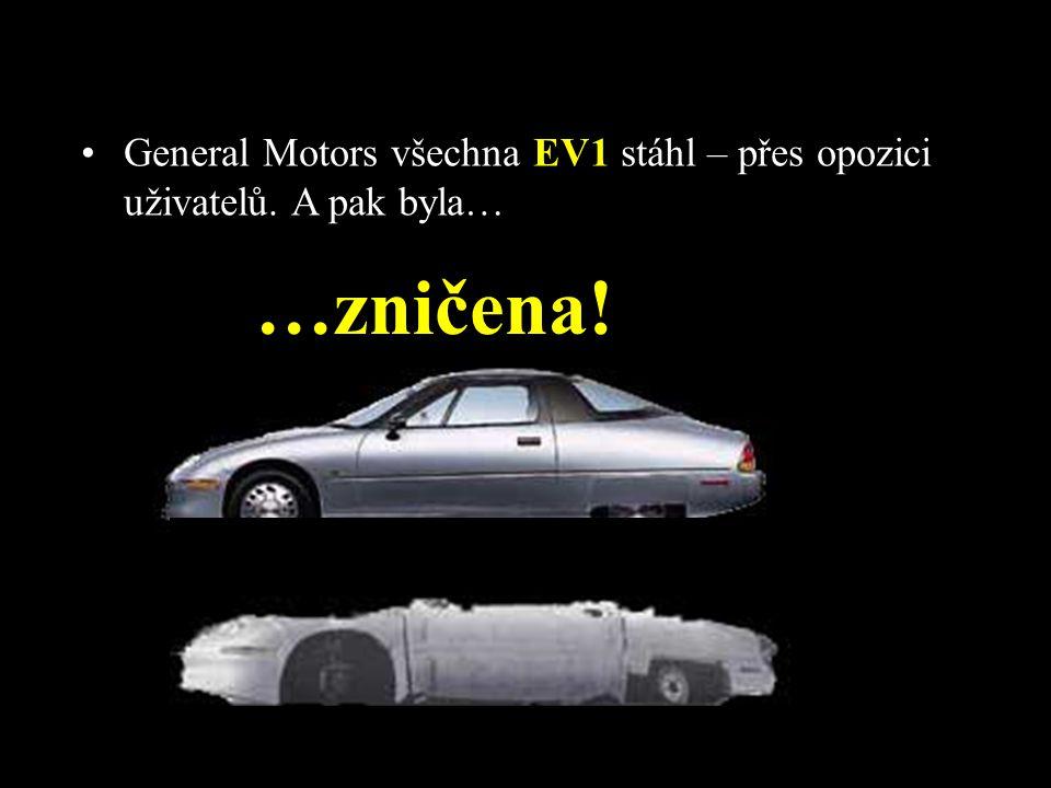 •Jak to bylo možné? •O 10 let později tato auta budoucnosti zmizela. •Musíme vědět, že tato auta nemohla být koupena. Dala se jen pronajmout. •Nájemní