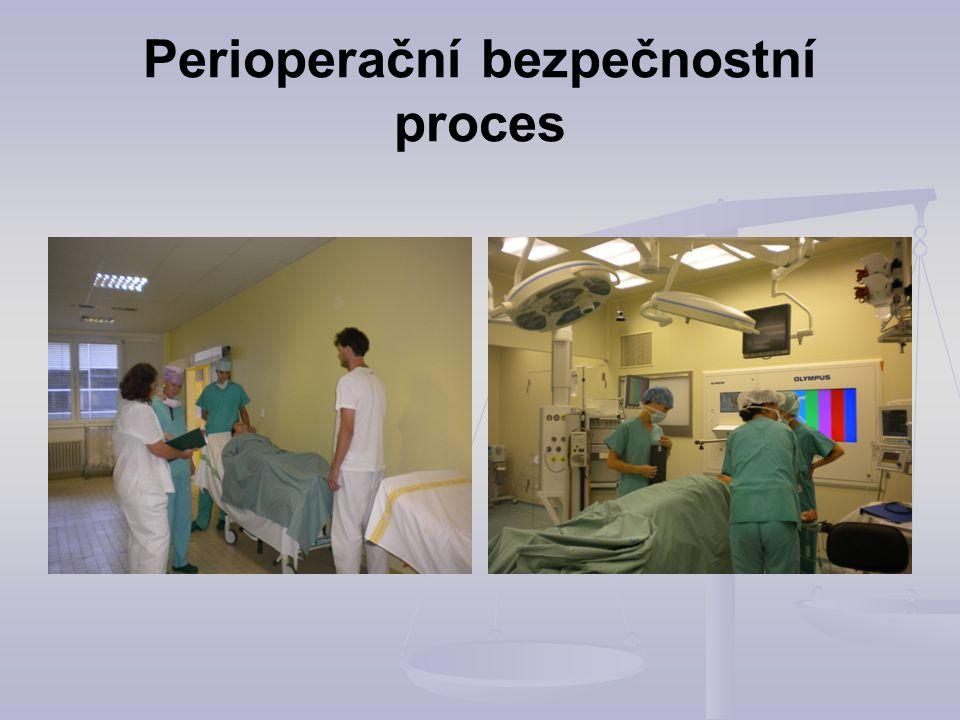 Perioperační bezpečnostní proces