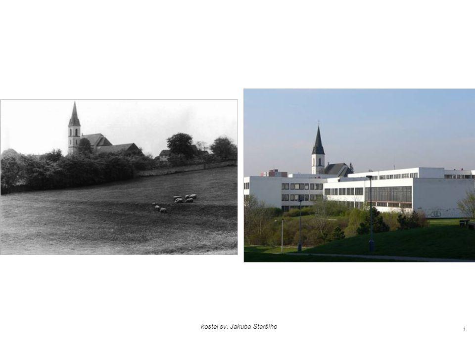 Stodůlky 1977 a 2007 foto Václav Vančura, 1977 foto Jan Vančura, 2007