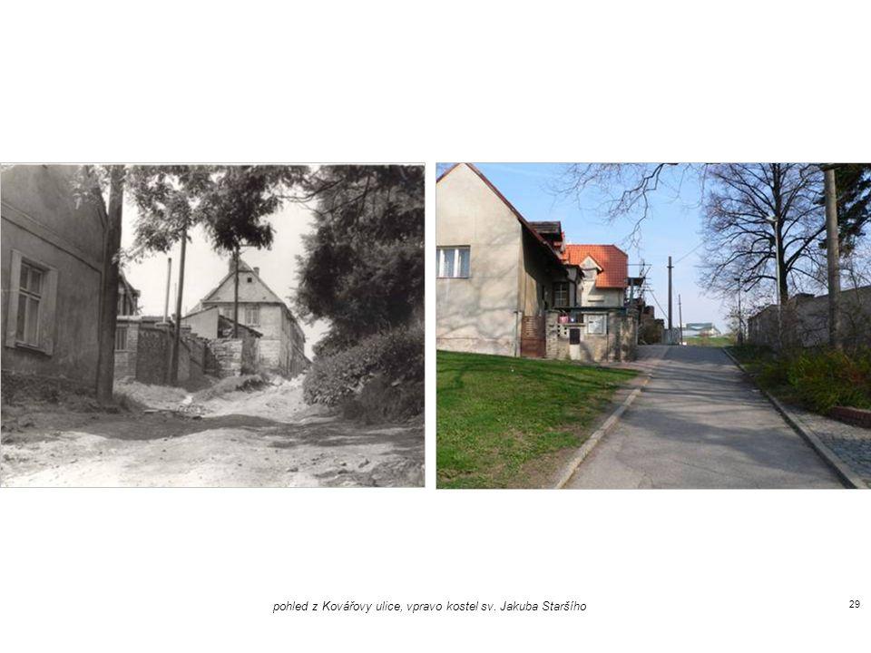 umělecká škola, pohled z ulice K Brance 28