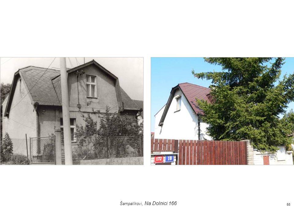kulturní dům, křižovatka ulic U Cikánky a K Vidouli 55