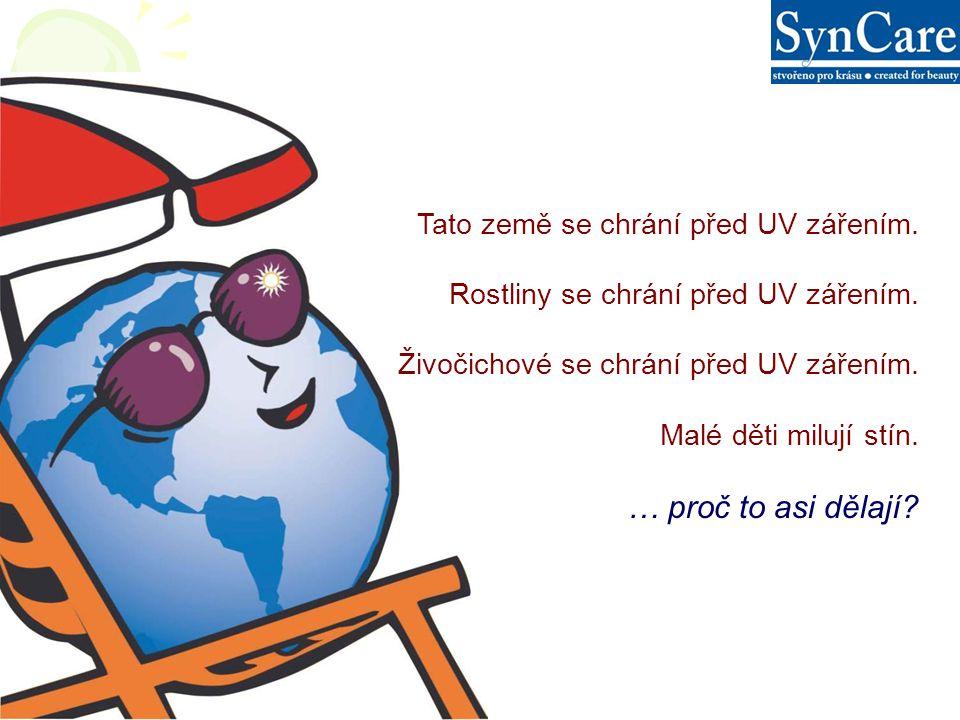 Tato země se chrání před UV zářením. Rostliny se chrání před UV zářením.