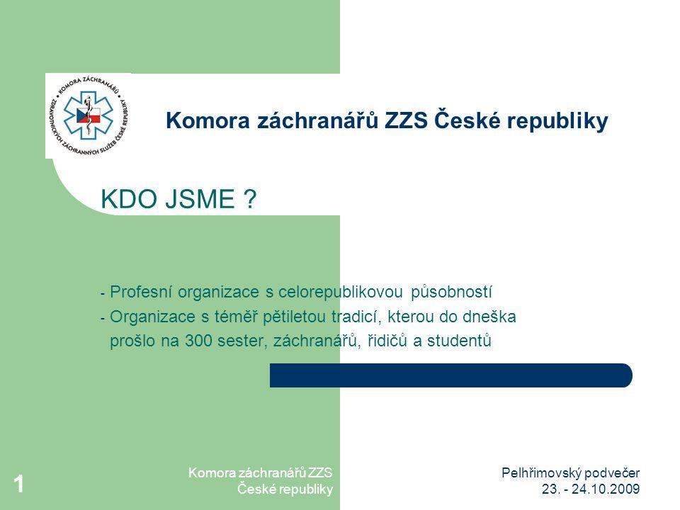 Komora záchranářů ZZS České republiky Pelhřimovský podvečer 23.