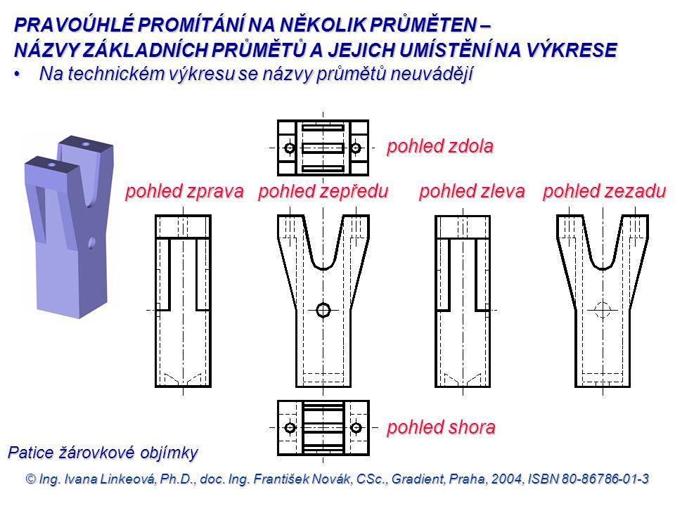 © Ing. Ivana Linkeová, Ph.D., doc. Ing. František Novák, CSc., Gradient, Praha, 2004, ISBN 80-86786-01-3 pohled zprava pohled zepředu pohled zleva poh
