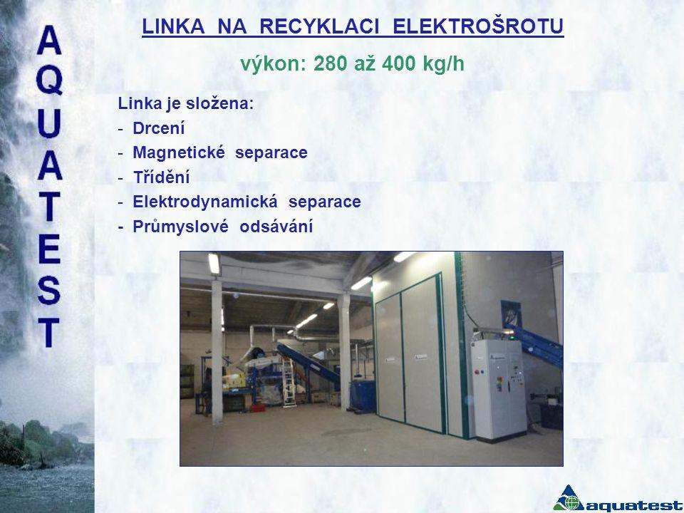 CERTIFIKÁT linka čištění skloviny obrazovek podle směrnice 2006/42/ES, 2006/95/ES a 2004/108/ES Strojírenský zkušební ústav, s.p., Brno