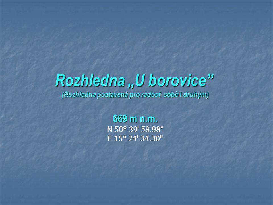 """Putování po ČR (1) aktualizováno v r. 2013 Pár typů na výlet: Z podkrkonoší až po Jizerské hory (Rozhledna """"U borovice"""" - Bozkovské jeskyně - Příchovi"""
