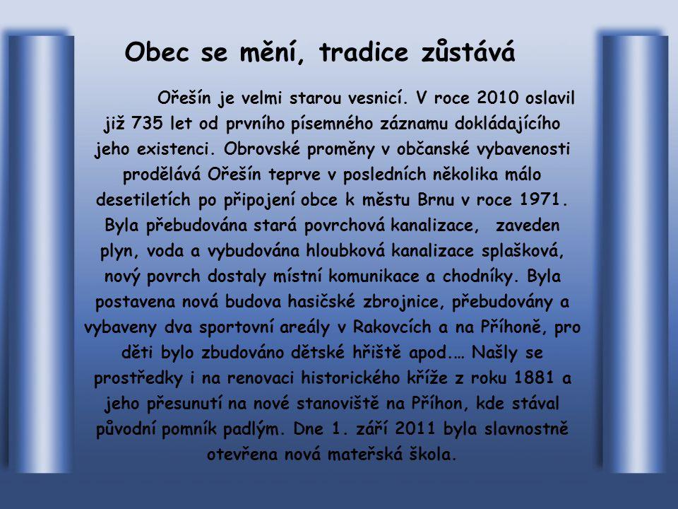TRADIČNÍ OŘEŠÍNSKÁ JUBILEJNÍ 145. POUŤ NA VRANOV 30.