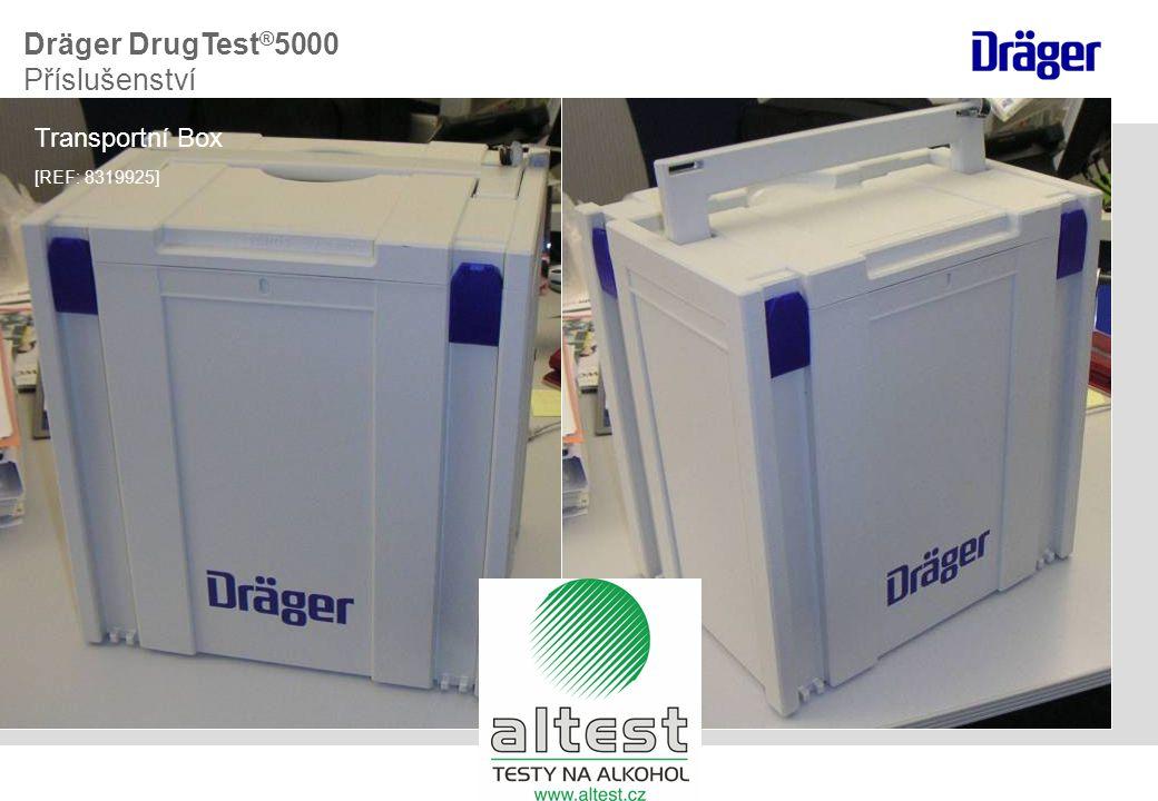 Transportní Box [REF: 8319925] Dräger DrugTest ® 5000 Příslušenství