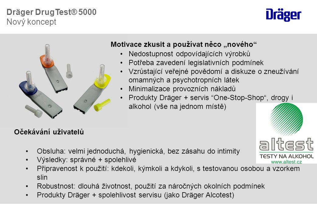 Transportní brašna: integrované úchyty pro testovací patrony Dräger Mobile Printer REF: 8319310 Kompaktní klávesnice, PS/2 QWERTZ REF: 8315095 QWERTY REF: 8315497 AZERTY REF: 8315142 •Kapsa pro klávesnici a tiskárnu •Analyzer a Mobile Printer spolu komunikují přes IR port Dräger DrugTest ® 5000 Příslušenství