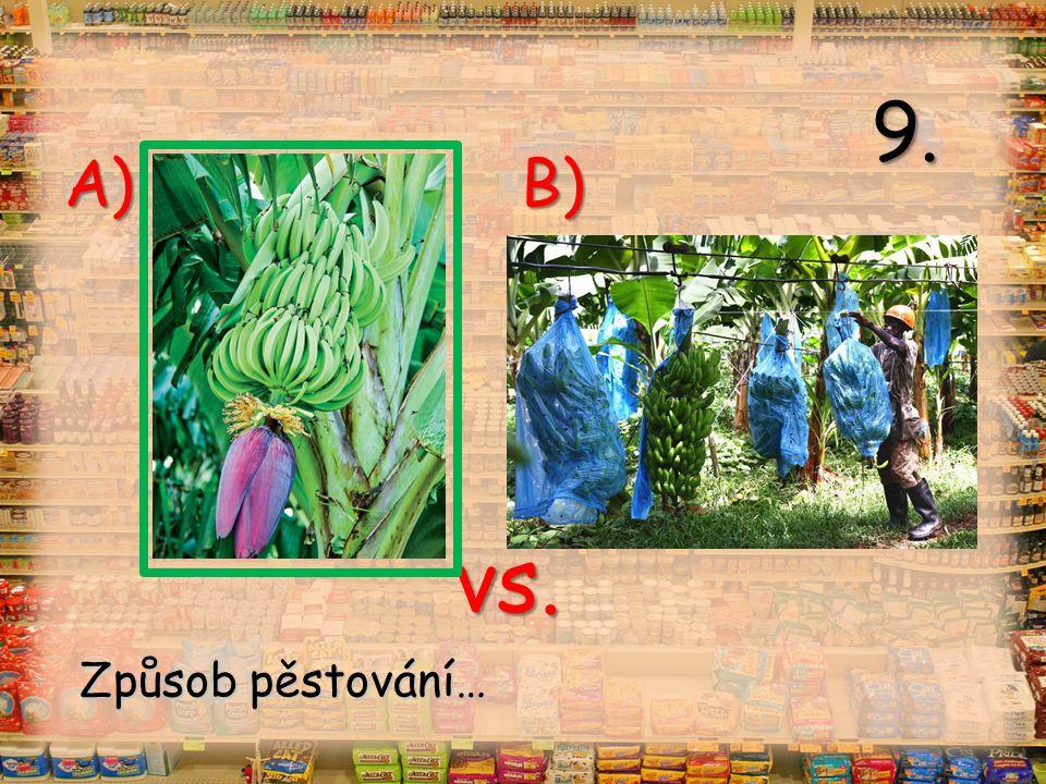 vs. A) B) 9. Způsob pěstování…